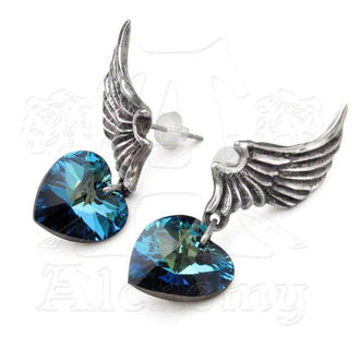 earrings El Corazon - ALCHEMY GOTHIC - El Corazon - ULFE15