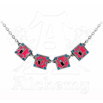 necklace I Love I Hate - ALCHEMY GOTHIC, ALCHEMY GOTHIC