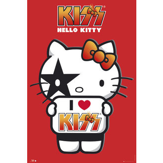 poster Hello Kitty - Kiss I Love - No Germany - GB Posters, HELLO KITTY, Kiss