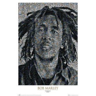 poster Bob Marley - Mosaic II - GB Posters, GB posters, Bob Marley