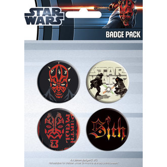 badges - Star Wars - Darth Maul - GB Posters, GB posters