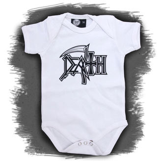 body children's Death - Logo - White, Metal-Kids, Death