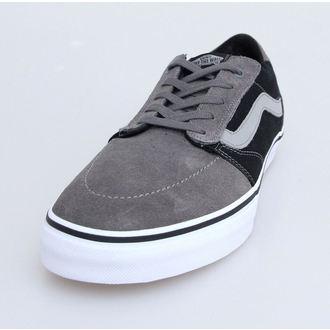 low sneakers men's - Lindero - VANS - Pewter/Black, VANS