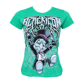 t-shirt hardcore women's - Cricket - BLACK ICON - DICON113