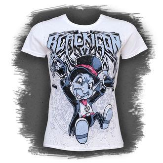 t-shirt hardcore women's - Cricket, BLACK ICON