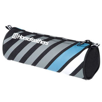 pencil case Horsefeathers - Sam - Black Stripes, HORSEFEATHERS