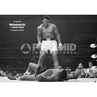 poster Muhammad Ali Liston - Landscape - Pyramid Posters, PYRAMID POSTERS