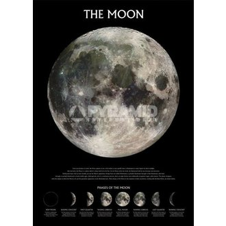 poster The Moon - Outer Space - Pyramid Posters, PYRAMID POSTERS
