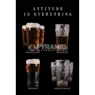 poster Attitude Is Everything - Pyramid Posters, PYRAMID POSTERS