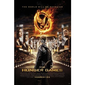 poster Necam - Hunger Games - Pyramid Posters, PYRAMID POSTERS