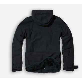 jacket men winter BRANDIT - Vintage Diamond - Black - 3102/2