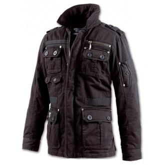 spring/fall jacket men's - Platinum Vintage - BRANDIT - 3103-black