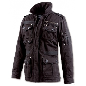 jacket men spring/autumn BRANDIT - Platinum Vintage - Black - 3103/2