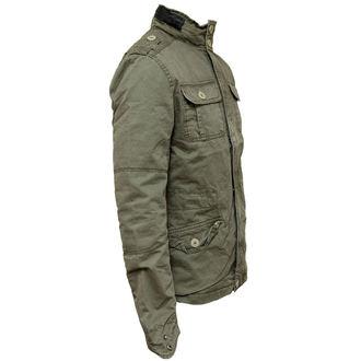 jacket men spring/autumn BRANDIT - Britannia - Olive - 3116/1