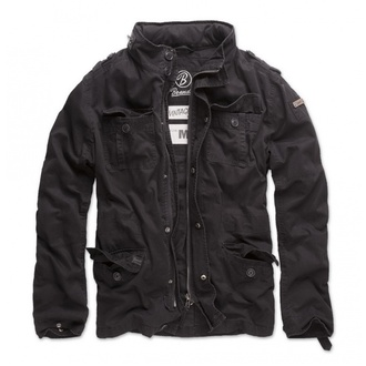 jacket men spring/autumn BRANDIT - Britannia - Black - 3116/2