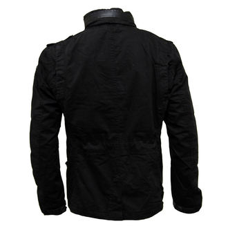 jacket men spring/autumn BRANDIT - Britannia - Black - 3116/2
