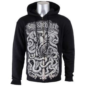 hoodie men's Smashed Face - Shark - NNM - Black, NNM, Smashed Face