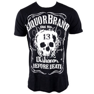 t-shirt hardcore men's - Dishonor Before Death - LIQUOR BRAND, LIQUOR BRAND