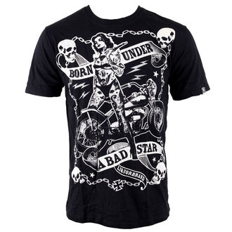 t-shirt hardcore men's - Bad Star Chick - LIQUOR BRAND, LIQUOR BRAND