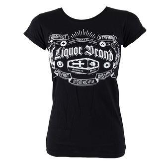 t-shirt hardcore women's - Coffin - LIQUOR BRAND, LIQUOR BRAND