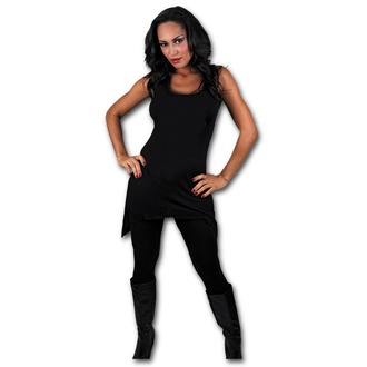dress women SPIRAL - Gothbotm Vest Viscose - PL234