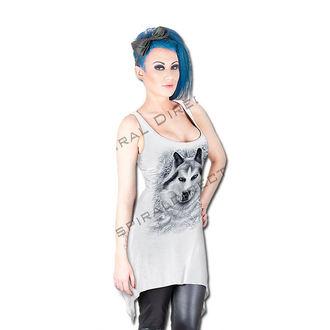 dress women SPIRAL - Wolf - White, SPIRAL