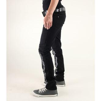 pants women 3RDAND56th - Steam Punk Skinny Jeans - JM1025