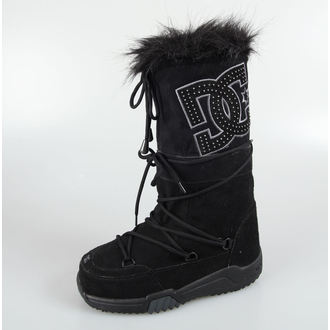 winter boots women's - Chalet Suede - DC - BLACK-DK SHADOW-BDH