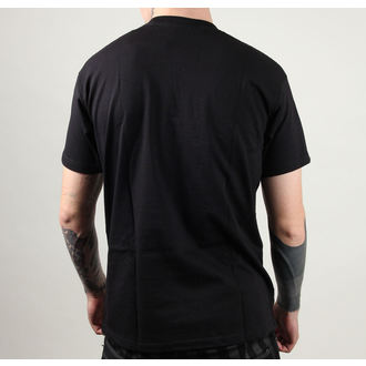 t-shirt street men's - Skull Bitch - BLACK HEART - 001-0001-BLK