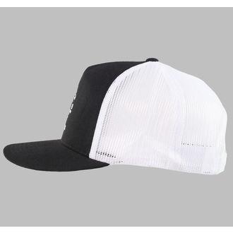 cap BLACK HEART - TRUCKER - Garage - Black / White