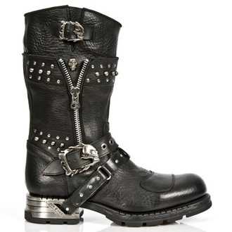 leather boots women's - NEW ROCK - M.MR022-S1