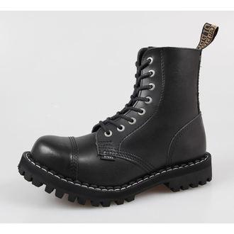 leather boots women's - STEEL - 114/113 - Black