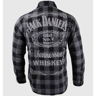 shirt men with long sleeve Jack Daniel's - Black/Grey - BIOWORLD, JACK DANIELS