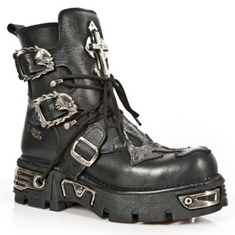 leather boots - 1033-S1 - NEW ROCK, NEW ROCK