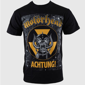 Metal T-Shirt men's Motörhead - Achtung g- Blk - ROCK OFF - MHEADTEE06MB