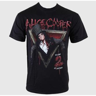t-shirt metal men's Alice Cooper - Welcome 2 My Nightmare - ROCK OFF, ROCK OFF, Alice Cooper