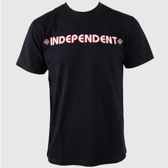 t-shirt street men's - Bar Cross - INDEPENDENT - TSBA BLACK