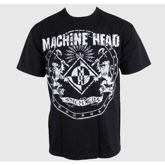 t-shirt metal men's Machine Head - Classic Crest - ROCK OFF - MAHTEE03MB