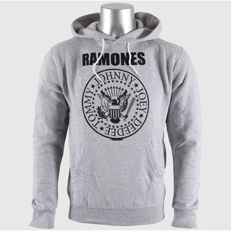 hoodie men's Ramones - Seal Logo Gry - BRAVADO EU, BRAVADO EU, Ramones