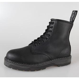 leather boots women's - - GRINDERS - 8dírkové - Cedric, GRINDERS