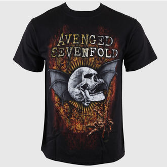 t-shirt metal men's Avenged Sevenfold - Through The Fire - BRAVADO - AS1268