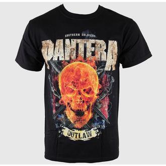 t-shirt metal men's Pantera - Outlaw Skull - BRAVADO, BRAVADO, Pantera