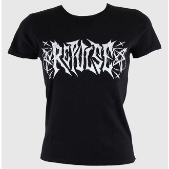 t-shirt street women's - Black - REPULSE, REPULSE