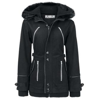 jacket women's spring/autumn POIZEN INDUSTRIES - Chase - Black