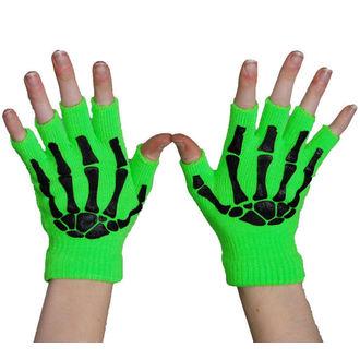 gloves fingerless POIZEN INDUSTRIES - BGS - N.Green