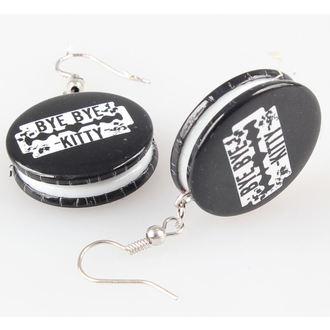 earrings POIZEN INDUSTRIES - BBBK Disc