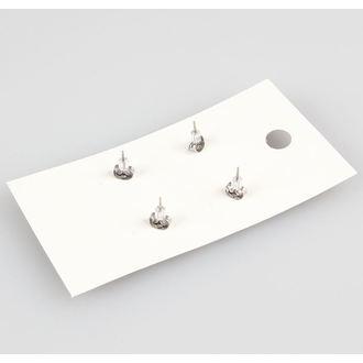 earrings POIZEN INDUSTRIES - EFES1 - Fairy & Razorblade, EVIL FAIRYS