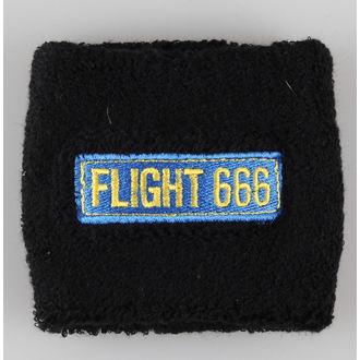 wristband IRON MAIDEN - Flight 666 - RAZAMATAZ - WB187