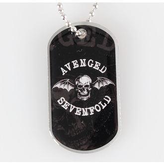 collar (dog tag) Avenged Sevenfold - Death Bat - RAZAMATAZ, RAZAMATAZ, Avenged Sevenfold