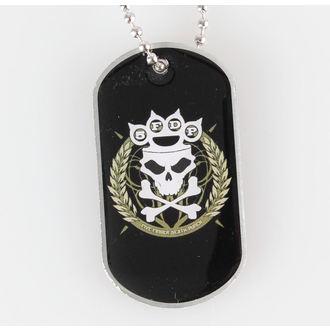 collar (dog tag) Five Finger Death Punch - Knuckle Crown - RAZAMATAZ, RAZAMATAZ, Five Finger Death Punch